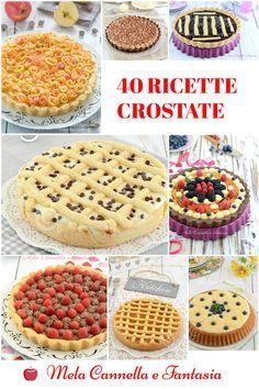 40 Ricette facili facili per realizzare tante golosissime #crostate! #yummy #food #tart #tasty #ricette #recipe #dolci #blog