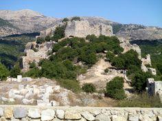 Nimrod's Fortress, The Golan    Israel