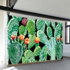 Mural On Cinder Block Wall Artistic Joys Cubit Murals