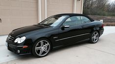 2007 Mercedes-Benz CLK63 AMG Convertible presented as Lot T90.1 at Kansas City, MO