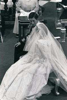July 29, 1981   Lady Diana Spencer marries Prince Charles at St. Paul's Cathedral