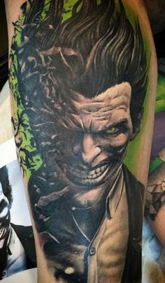 Matt Skinny Bagwell || #traditionaltattoos #tattoos #joker