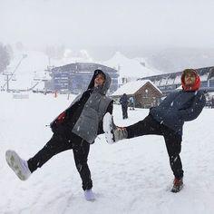 Stale Sandbech and Marcus Kleveland in Aspen. I Love Winter, Baby Winter, Winter Is Coming, Winter Time, Ski Season, Winter Season, Chalet Girl, Shotting Photo, Winter Photos