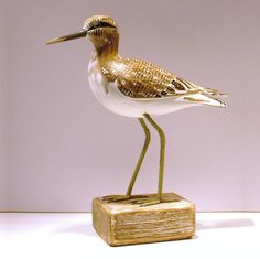 Sandpiper Wooden Bird - CoastalHome.co.uk: Wooden Birds & Fish