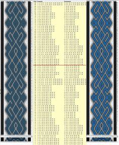 32 tarjetas, 5/6 colores, repite cada 48 movimientos / sed_769 diseñado en GTT༺❁