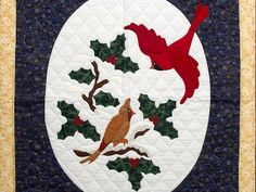 1000 Images About Red Bird Quilts On Pinterest