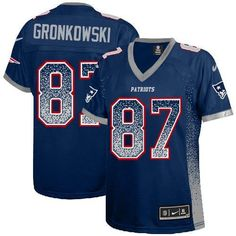 Nike Patriots Tom Brady Navy Blue Team Color Super Bowl XLIX Champions Patch Women's Stitched NFL Elite Drift Fashion Jersey Cheap Jerseys for sale Patriots Football, Patriots Memes, Football Memes, College Football, Super Bowl, Tom Brady Shirt, Jerseys Nfl, Rob Gronkowski, Outfits