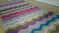 Kuscheldecke nach Anleitung von Drops Blanket, Crochet, Cuddling, Homemade, Tutorials, Crochet Crop Top, Chrochet, Rug, Blankets