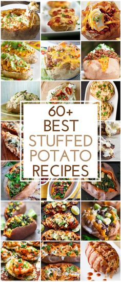 60 Best Stuffed Potato Recipes