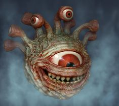 Beholder by Hungrysparrow Suggested Book: Dungeons & Dragons Monster Manual - 4th Edition