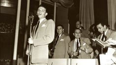 Frank Sinatra with Tommy Dorsey Orchestra Frank Sinatra singing with the Tommy…