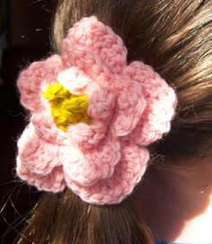 Clairepony_small2...Pony peony...a pretty flower for jewelry making too!..free pattern!