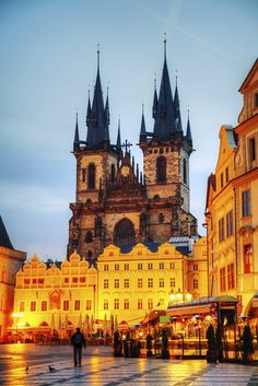 Church of Our Lady before Tyn in #Prague