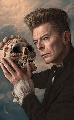 David Bowie Portrait for Rolling Stone by Rory Kurtz. ❣Julianne McPeters❣ no pin limits Angela Bowie, David Jones, Arte Audrey Hepburn, Duncan Jones, Bowie Blackstar, Grandes Photos, David Bowie Art, David Bowie Starman, The Thin White Duke