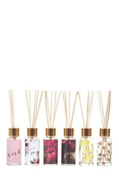 Buy Set Of 6 Diffusers from the Next UK online shop Xmas Wishes, Gift List, Next Uk, Uk Online, Gift Guide, Holiday Gifts, Gifts For Her, Fragrance, Diffusers