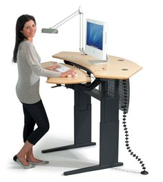 💪cleavage outfit,beauty mask,beauty and health,outfi… – Creative Home Office Design Standing Work Station, Adjustable Computer Desk, Stand Up Desk, Home Office Design, Home Office Furniture, Desk Ideas, Office Ideas, Computer Workstation, Computer Cart