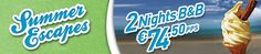 Irelandhotels.com Summer Escapes Promotion with 2 nights B for 2 adults, for €74.50 per person Hotel Deals, Promotion, Night, Summer, Summer Time