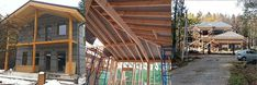 Sd, Workshop, Cabin, House Styles, Projects, Home Decor, Log Projects, Atelier, Cabins