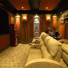 Good home theater lighting information...