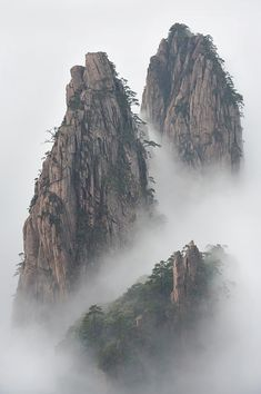 Emmanuel Boitier - Huang Shan, China. so magical//