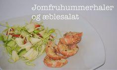 Opskrift: Jomfruhummer og æblesalat // mtotfls.dk