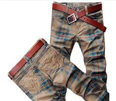 Willstyle Fashion Irish-Brit Style Pants