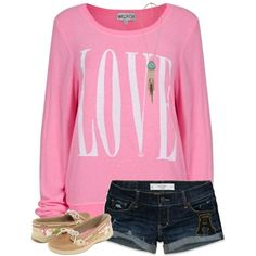 Love this outfit for school! <3 Need that sweater!