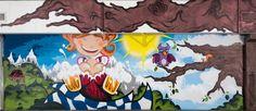 caratart Episode 2: Graffiti Kunst der Münchner Streetart Künstler LOOMIT und LawOne in der Tiefgarage des carathotel München. / caratart Episode 2: Graffiti art by the munich streetart artists LOOMIT and LawOne in the carathotel Munich underground parking. Graffiti Kunst, Moose Art, Animals, Underground Garage, Oktoberfest, Animales, Animaux, Animal Memes, Animal