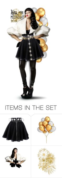 """Kiss me at midnight 💋"" by pati777 ❤ liked on Polyvore featuring art"