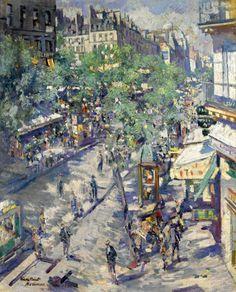 Korovin. The Boulevard of Sevastopol, 1923