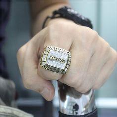 Custom 2000 Los Angeles Lakers National Basketball World Championship Ring