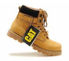 https://www.i-sabuy.com/ [มีหลายสี] รองเท้าบูท CAT-CATERPILLAR รองเท้าเดินป่า หนังแท้ หุ้มข้อ พื้นยางนุ่มๆ สินค้างาน AAA