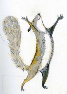 Картинки по запросу illustration of squirrels