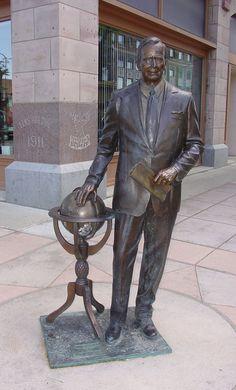 George Bush, Presidential Walk, Rapid City, South Dakota