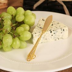 """Golden Knife"" Cheese Knife/Spreader | Grazie Gifts"