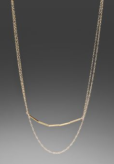 GORJANA Ava Layer Necklace in Gold