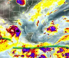 Se intensificarán lluvias en SLP por Dolly http://elheraldoslp.com.mx/2014/09/03/continuaran-las-lluvias-en-slp-por-dolly-afecta-7-estados/