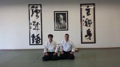 Stefano Mazzilli with Matsuoka Sensei, 14 September 2013, IKAZUCHI DOJO Irvine, CALIFORNIA - Travel to Los Angeles
