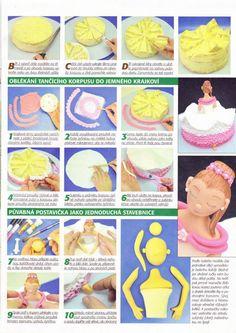 step by step ballerina cake
