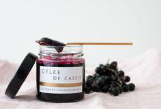 Rezept für schwarze Johannisbeeren: Gelee De Cassis › MONAQO
