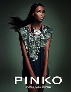 PINKO F/W 12 Naomi Campbell.