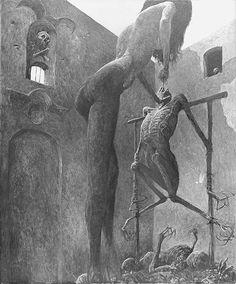 Women of Horror and Violence Creepy Art, Weird Art, Scary, Arte Horror, Horror Art, Satanic Art, Fantastic Art, Surreal Art, Dark Fantasy