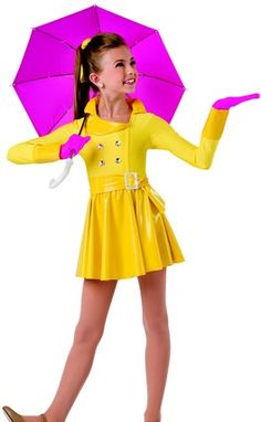 Yellow Vinyl Raincoats For Kids True Singing In The
