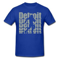 FOOTBALL T SHIRTS | Detroit Sports, Football T-Shirts