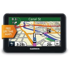 Refurbished Nuvi 50 LM 5 In GPS Navigator with United States Map Coverage and Lifetime Map Updates *** You can get additional details at the image link. #NavigationandElectronics
