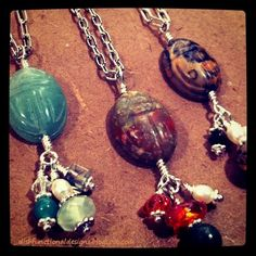 How To Make A Scarab Necklace