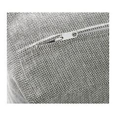 NOCKEBY Loveseat with chaise, right, Tallmyra white/black, chrome plated - right/Tallmyra white/black - chrome plated - IKEA
