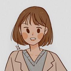 Cute Pastel Wallpaper, Cartoon Art Styles, Human Art, Cute Chibi, Cute Cartoon Wallpapers, Girl Cartoon, Cute Drawings, Kawaii Anime, Cute Art
