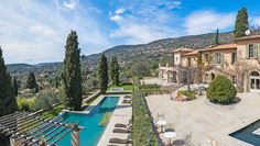 Brigitte Bardot's Former French Riviera Retreat Lists for $6.5 Million – Robb Report Outdoor Swimming Pool, Swimming Pools, Stone Deck, Wrought Iron Staircase, Rustic Country Kitchens, International Real Estate, Celebrity Houses, Hotel S