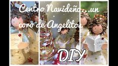 Navidad Diy, Fairy Dolls, Ornaments, Videos, Youtube, Christmas, Christmas Activities, Holiday Ornaments, Pintura